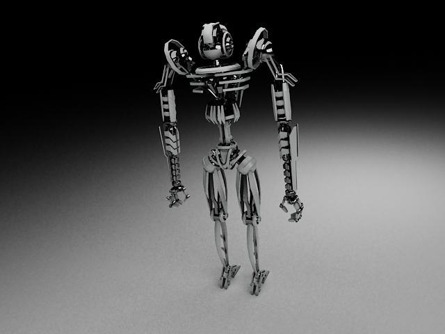 model robot tkf100 3d 116349