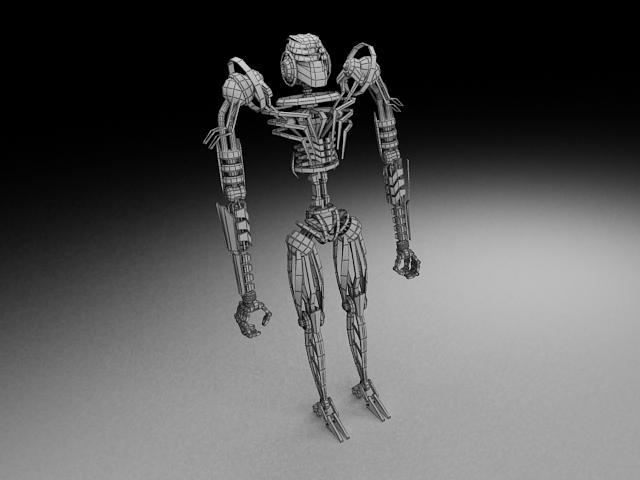 model robot tkf100 3d 116350