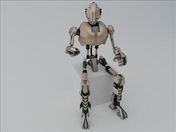 robot tr200 model 3d 3ds max fbx obj 107592