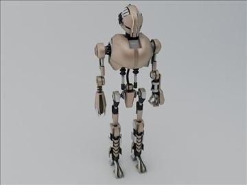robot tr200 3d model 3ds max fbx obj 107593