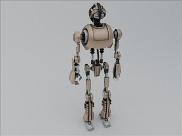 robot tr200 3d model 3ds max fbx obj 107594