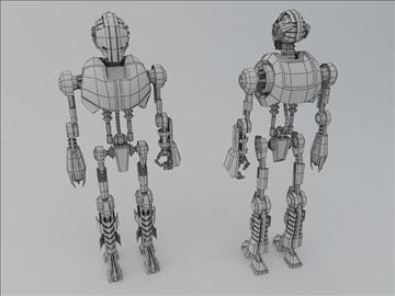 robot tr200 3d model 3ds max fbx obj 107595