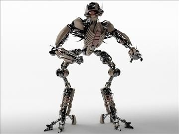 robot tr2102 model 3d 3ds max fbx c4d obj 104952
