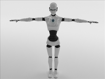 merch robot model 3d 3ds max fbx c4d obj 105267
