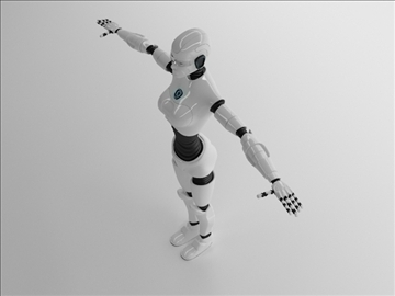 merch robot model 3d 3ds max fbx c4d obj 105268