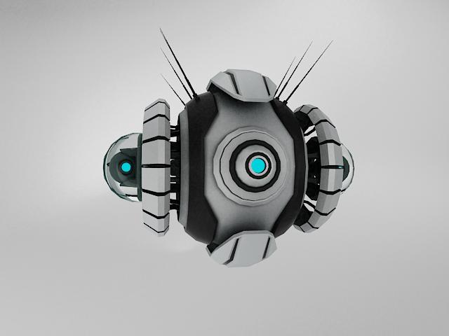 robot yt570 model 3d 3ds max fbx obj 114143