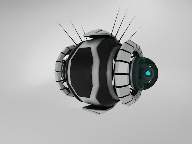 robot yt570 model 3d 3ds max fbx obj 114144