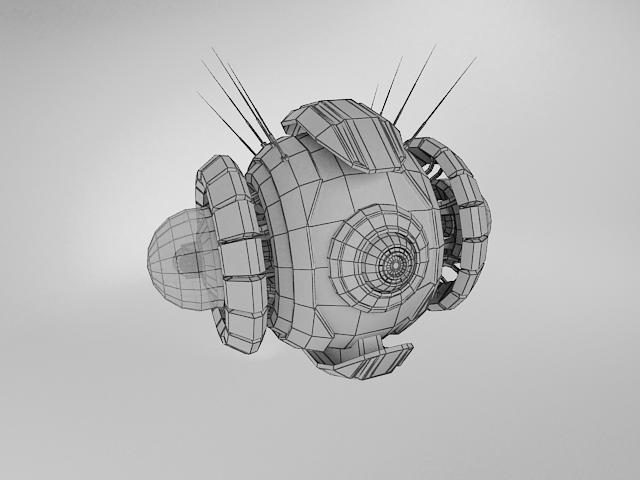 robot yt570 model 3d 3ds max fbx obj 114145