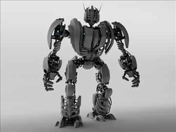 robot zeg3000 3d model 3ds max fbx c4d obj 104823
