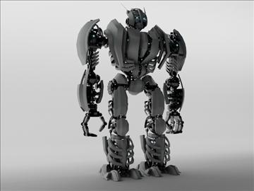 robot zeg3000 3d model 3ds max fbx c4d obj 104825