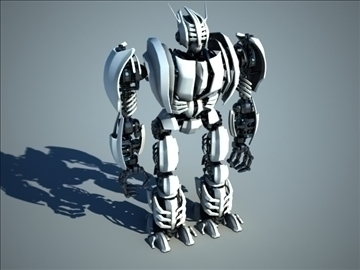 robot zeg3000 3d model 3ds max fbx c4d obj 104828