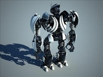 robot zeg3000 3d model 3ds max fbx c4d obj 104829