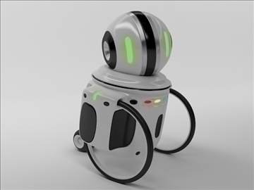 robot zi100 3d model 3ds max obj 103815