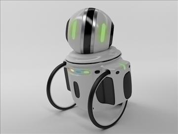 robot zi100 3d model 3ds max obj 103816