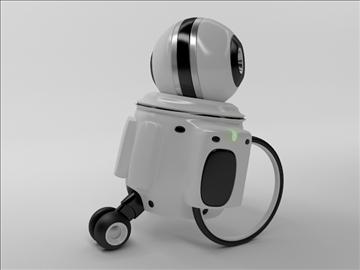 robot zi100 3d model 3ds max obj 103818