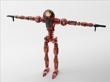 robot zl101 3d model max obj 103230
