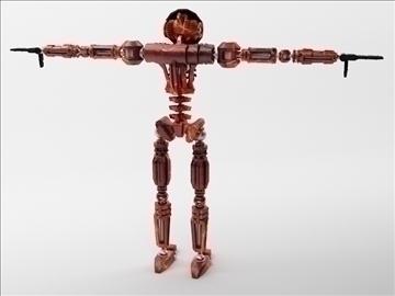 robot zl101 3d model max obj 103232