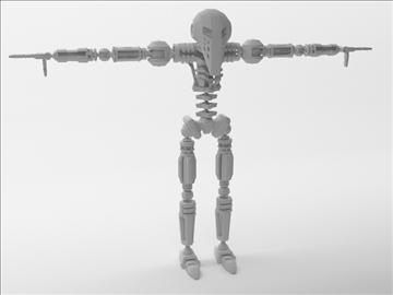 robot zl101 3d model max obj 103233