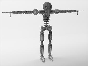robot zl101 3d model max obj 103234