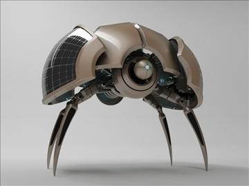 robot zlo200 model 3d 3ds max fbx c4d obj 104394