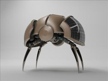 robot zlo200 model 3d 3ds max fbx c4d obj 104396