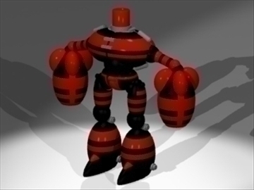 spam bot 3d model 3ds 81196