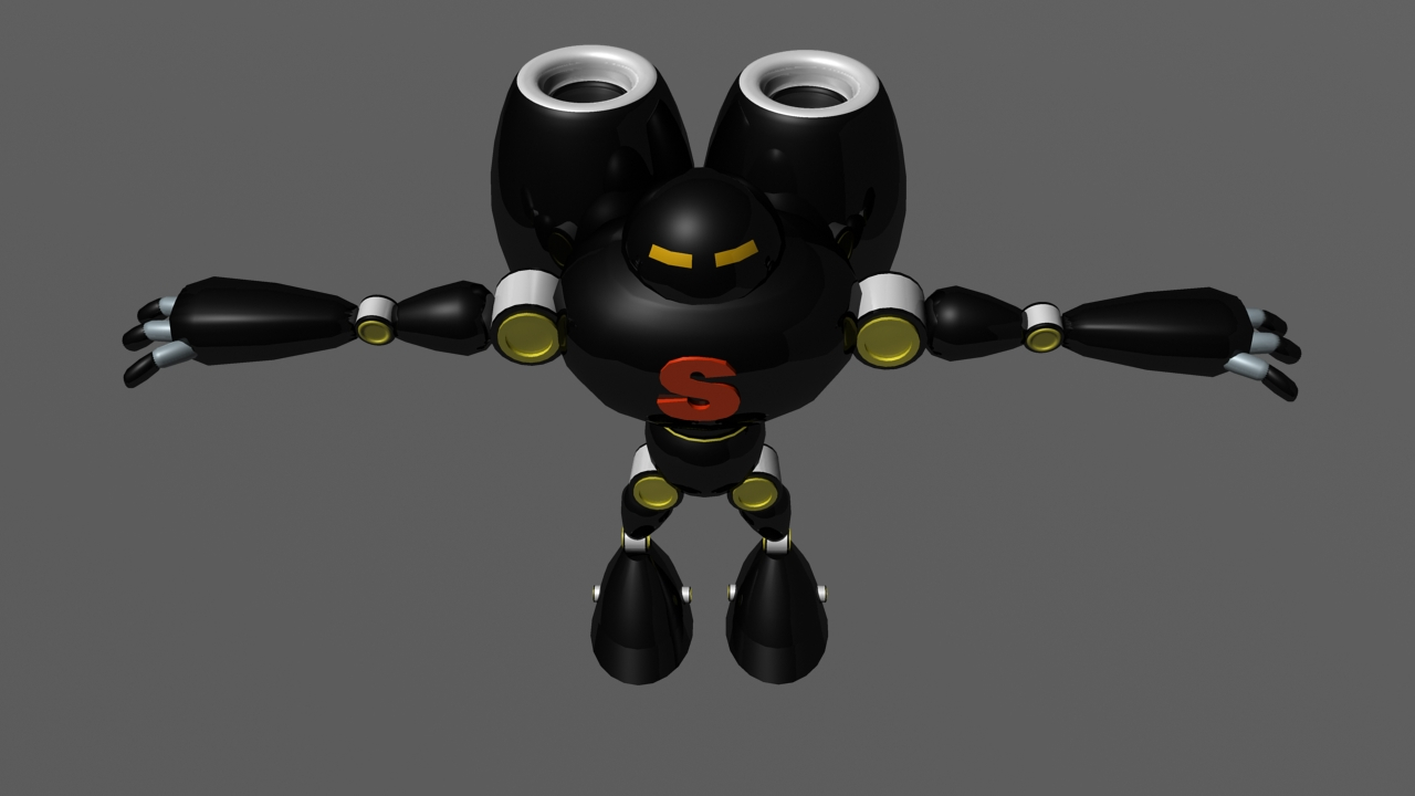 robot super 3d model ma mb arall 116129