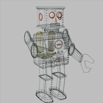 robot tun Model 3 3d 3ds 94374