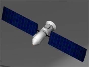 satellite – #2 3d model 3ds 81190