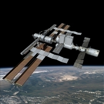 svemirska platforma 3d model 3ds 80498