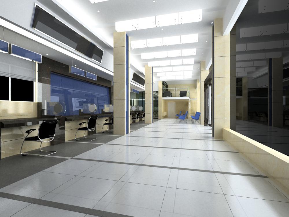 office 100 3d model max 144710