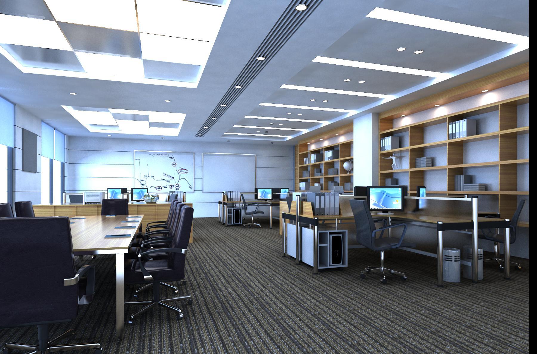 office 141 3d model max 120174