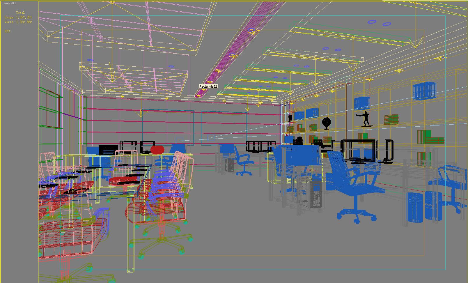 office 141 3d model max 120175
