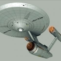 Enterprise 1701 ( 44.1KB jpg by dough-cgi )
