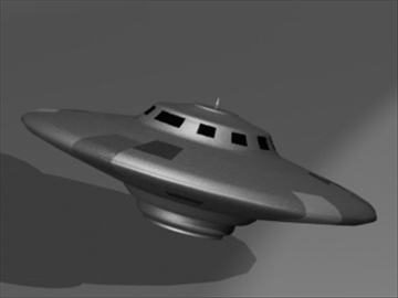 flying saucer 3d model 3ds 81166