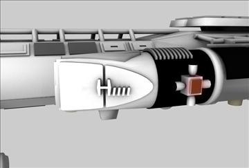 mk9 hawk cīnītājs kosmosa kuģis 3d modelis 3ds c4d 86874