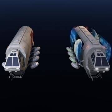 Sci-fi truck ( 30.5KB jpg by tartino )