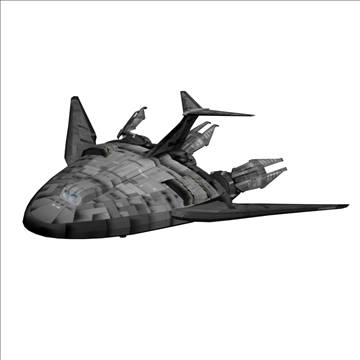 Antariksa saka babylon 5 3d model 3ds 82507
