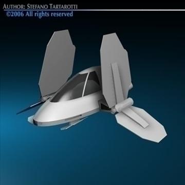 Small Spaceship ( 49.3KB jpg by tartino )