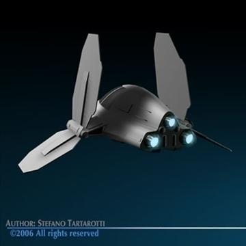 Small Spaceship ( 42KB jpg by tartino )