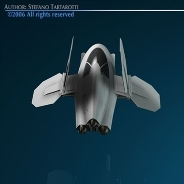 Small Spaceship ( 42.78KB jpg by tartino )