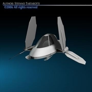 Small Spaceship ( 44.07KB jpg by tartino )