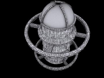 kosmosa bāze 3d modelis max fbx obj 110028