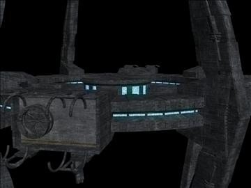 svemirska stanica v3 3d model 3ds max fbx obj 110018