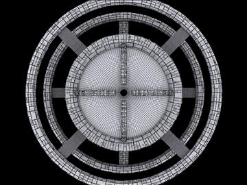 Space Base 3d model max fbx obj 110030