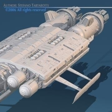 Spaceship2 ( 58.96KB jpg by tartino )