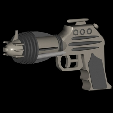 blasters x 5 3d model 3ds 95858