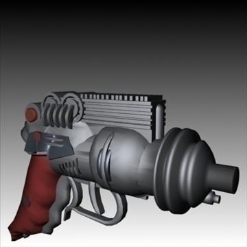 blasters x 5 3d model 3ds 95863