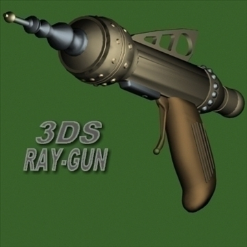 raygun 3d model 3ds 96139