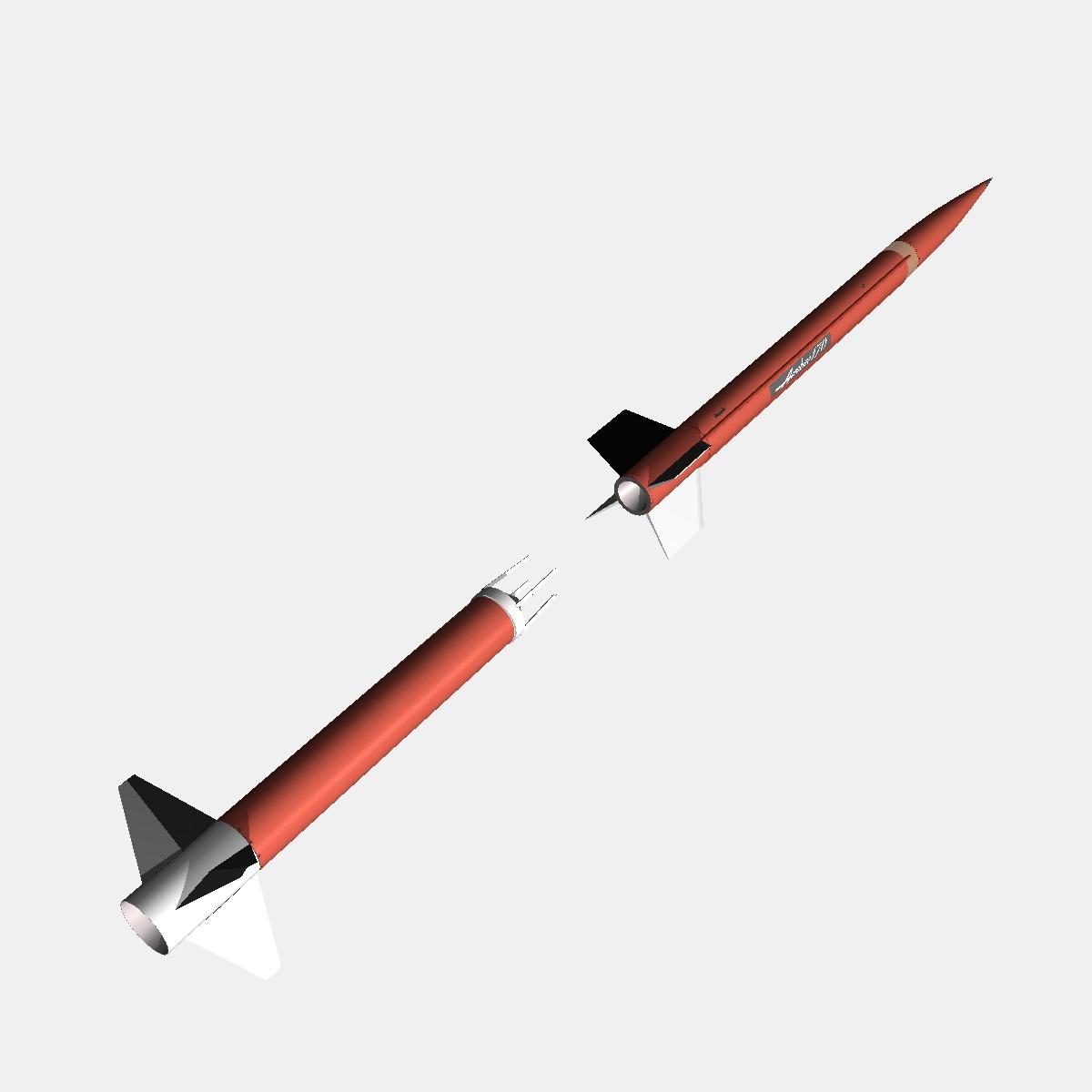 aerobee roicéad 170 3d múnla 3ds dxf fbx cumasc cob dae x obj 166042